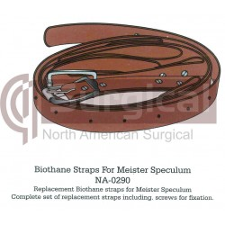 BIOTHANE STRAPS FOR MEISTER SPECULUM